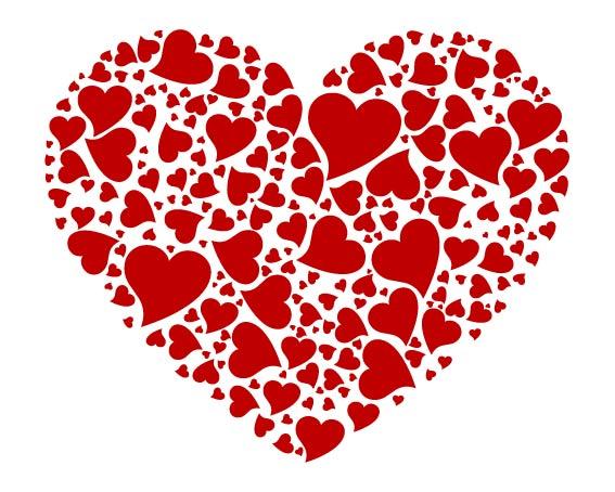 Векторный клипарт сердце, бесплатные ...: pictures11.ru/vektornyj-klipart-serdce.html