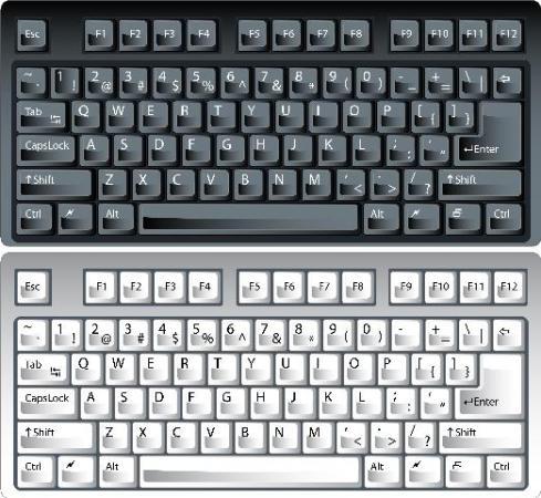 клипарт клавиатура: