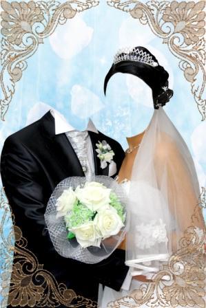 Свадебный шаблон - 4 Июня 2009